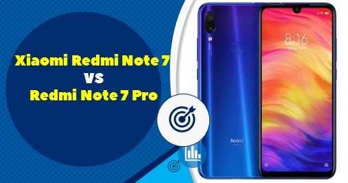 Xiaomi Redmi Note 7 vs Redmi Note 7 Pro