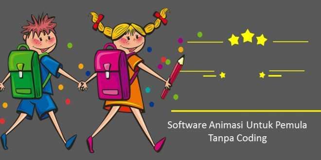 Software Animasi Untuk Pemula Tanpa Coding