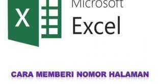 Cara Memberi Nomor Halaman Di Excel