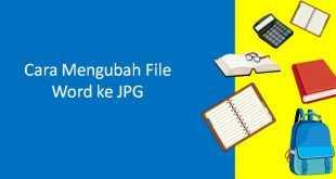 cara mengubah file word ke jpg